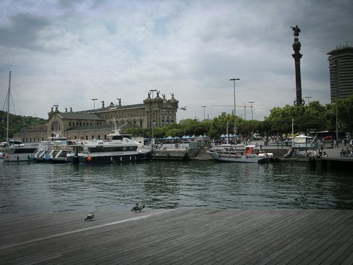 Moderner Hafen