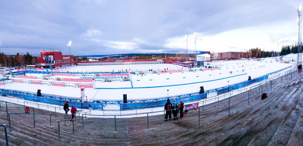 Das Biathlon Stadion