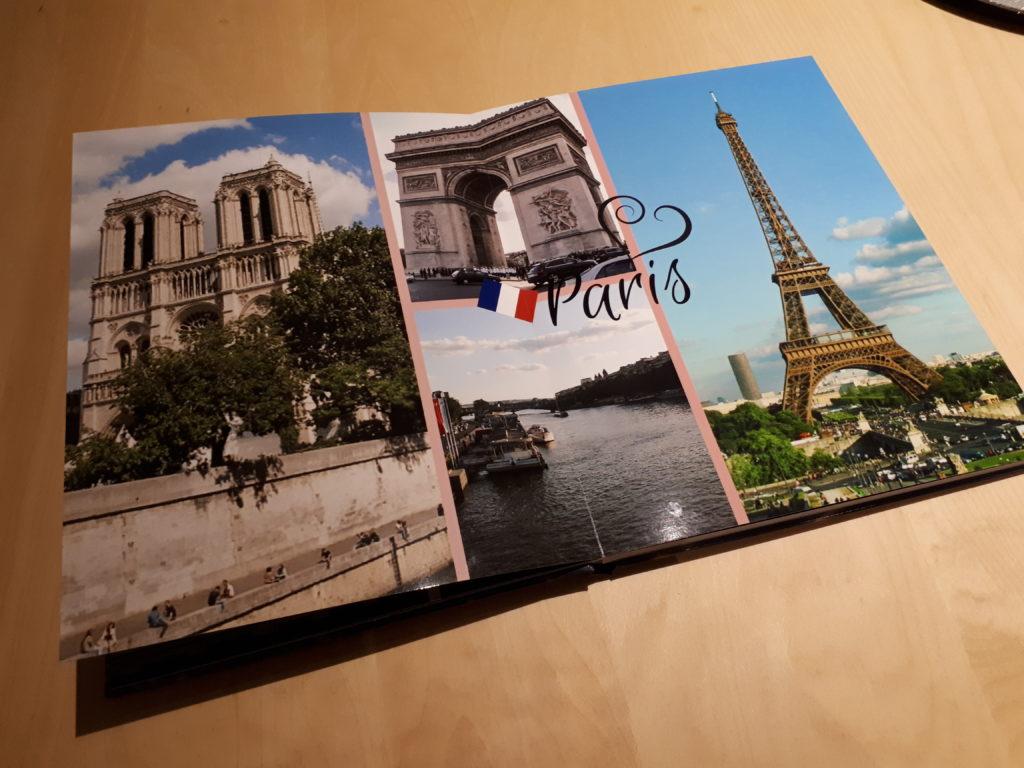 Doppelseite Paris
