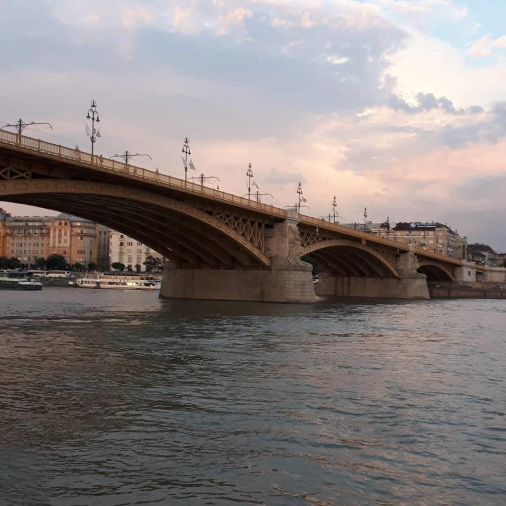 Die Margaretenbrücke in Budapest