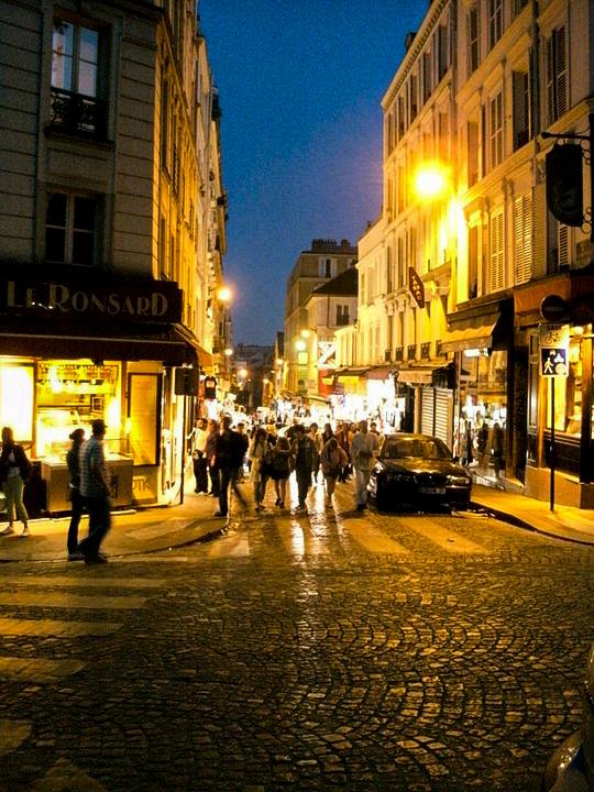 Paris bei Nacht!
