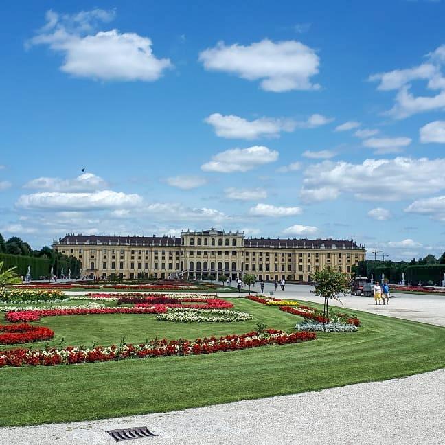 Der Garten von Schloss Schönbrunn