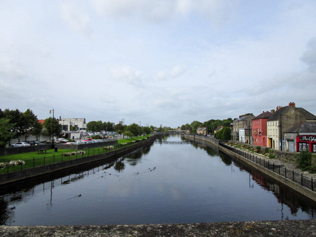 Bunte Häuser in Kilkenny