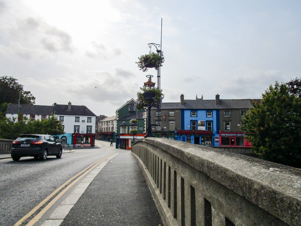 Eine Brücke in Kilkenny