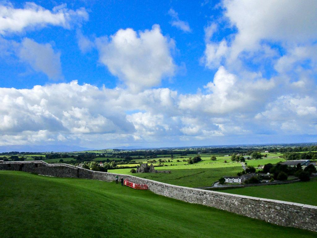 Aussicht vom Rock of Cashel