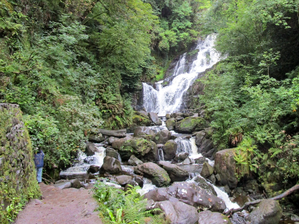 Der Wasserfall im Killarney Nationalpark