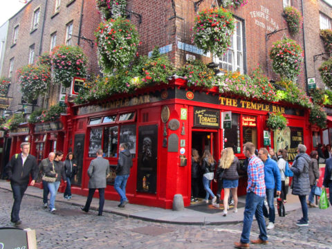 Dublin's famous Temple Bar