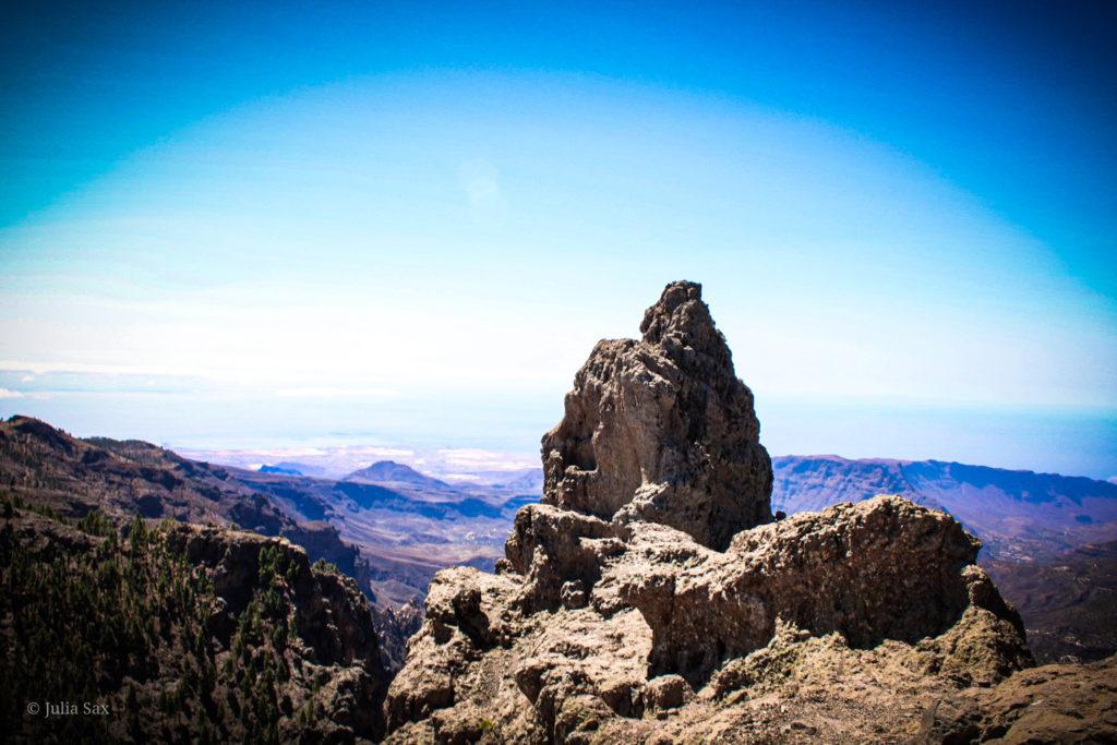 Ausblick vom Pico de Las Nieves