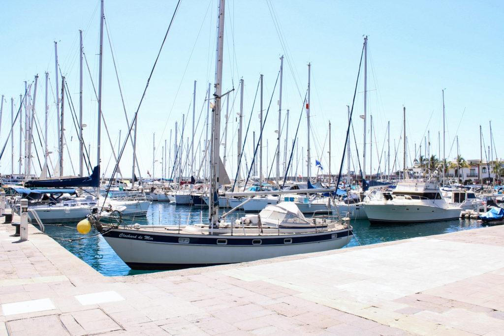 Im Hafen von Puerto de Mogán