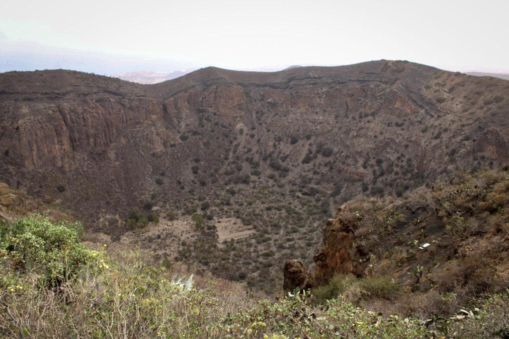 Der Krater von Bandama